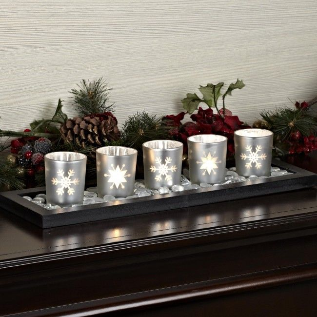 Light up your home for the holidays with a DCC Tealight Holder.
