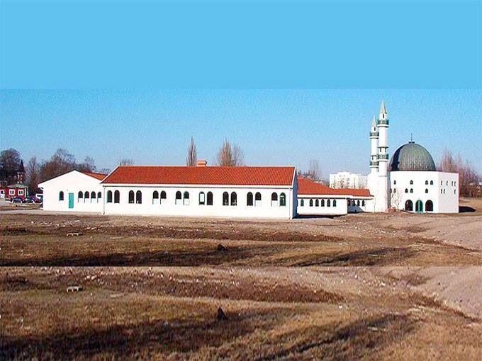 مسجد مالمو، السويد. Masjid Malmo, Sweden.