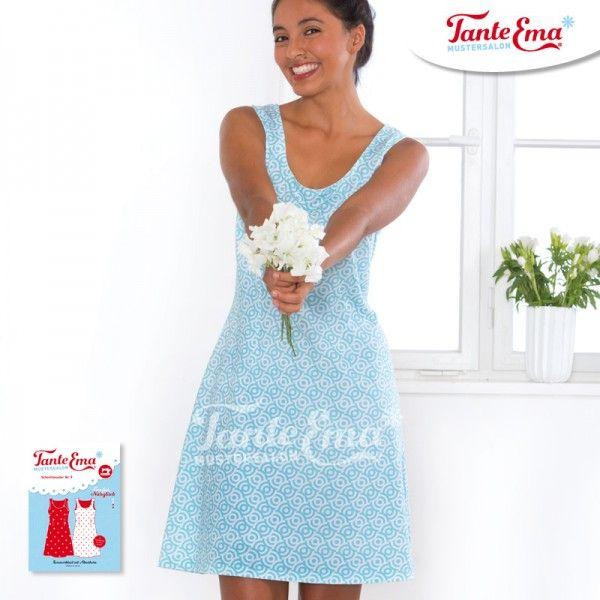 Großes Nähglück Nr. 9, Sommerkleid mit Abnähern Größen 34 bis 46
