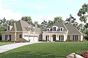 European French Country Southern House Plan 56929 Elevation