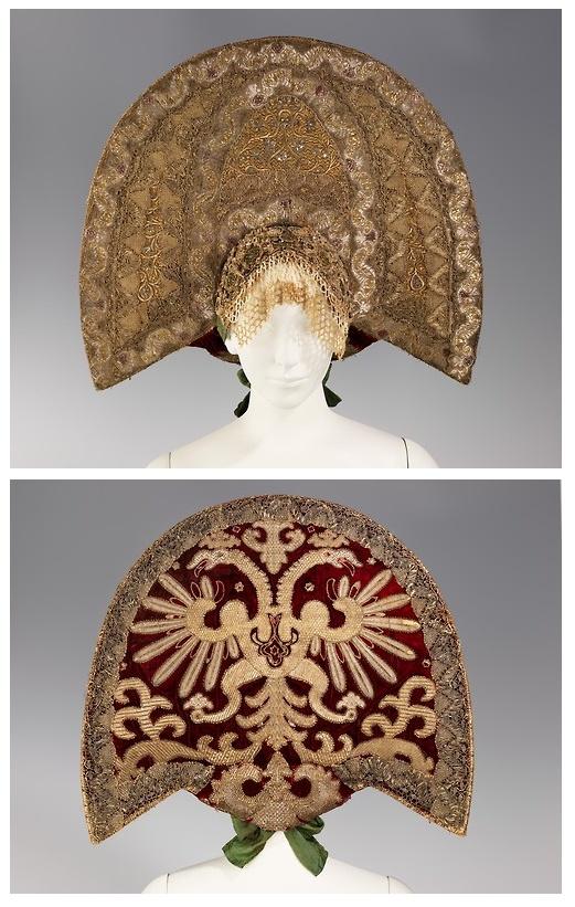 Kokoshnik, 19th century.