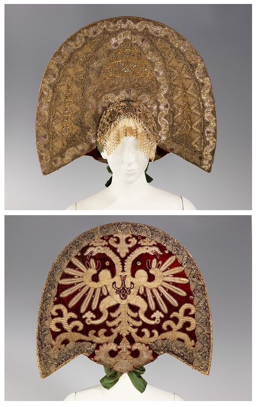 Kokoshnik    19th century    The Metropolitan Museum of Art