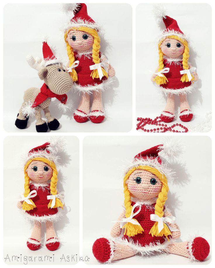 Amigurumi Aşkına: Amigurumi Yeni Yıl Bebeği-Amigurumi Doll