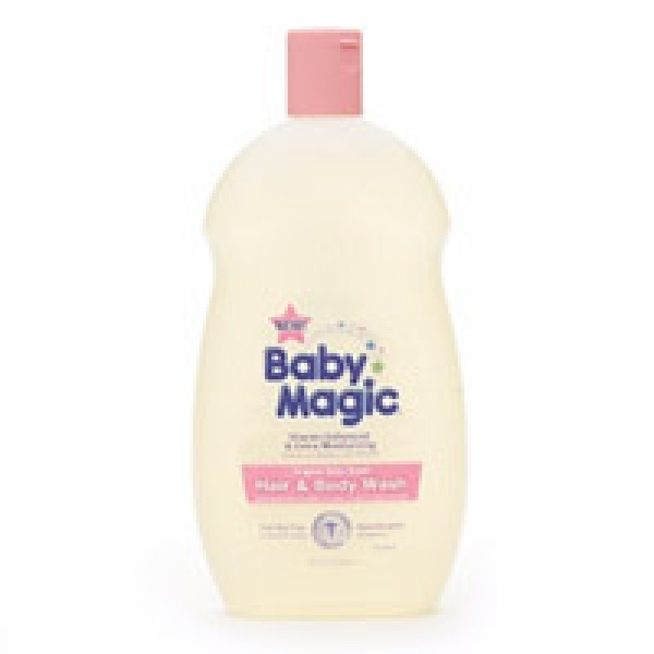 Natural baby skin care cleaning product