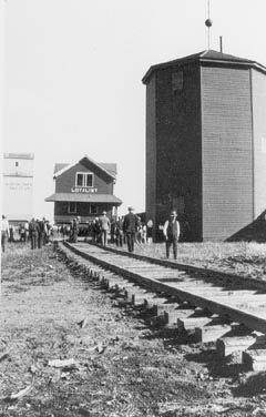 Bringing in the Station from Loyalist, Alberta