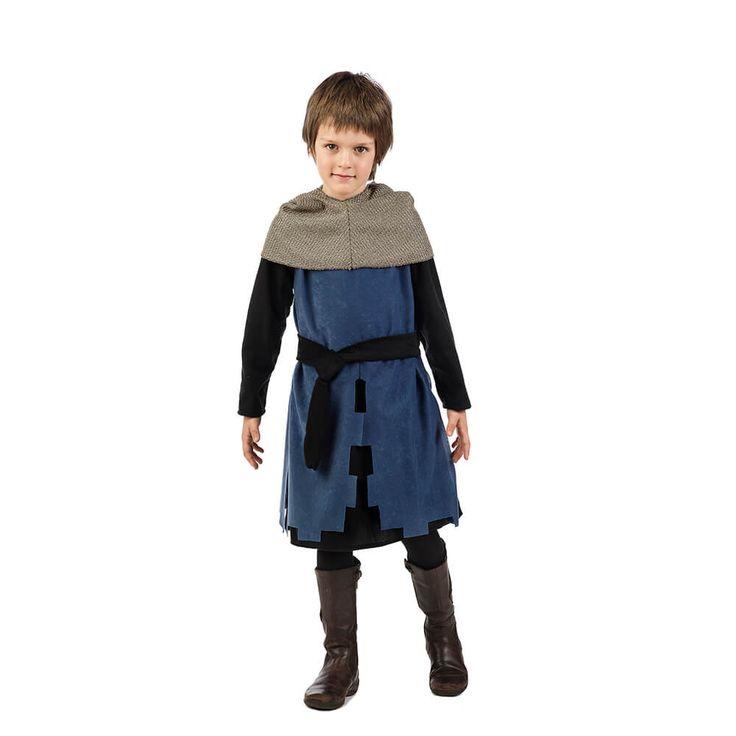 Disfraz de elegante caballero medieval para niño