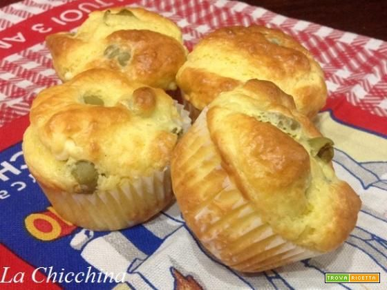 Muffin philadelphia e olive #ricette #food #recipes