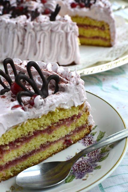Sefiiritort. Meringue cake. By Ülle @ Peenrarott