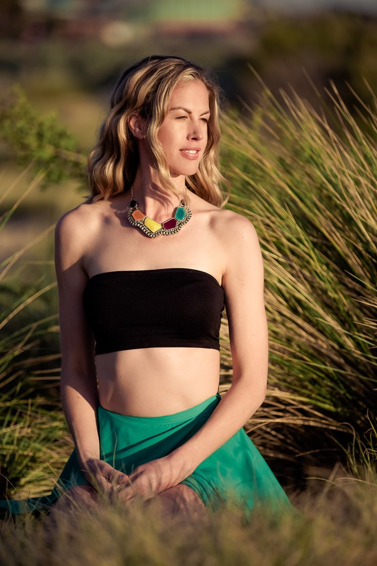 Golden light  Woman portrait Blonde model Dreaming at the beach Location inspiration Ksenia Belova Photography Melbourne Australia