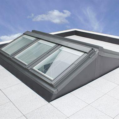 Flat Roof Apex System | Keylite Roof Windows | http://www.keyliteroofwindows.com/flat-roof-apex-system