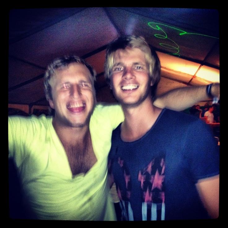 T Bone and I NYE 2011/12 - Beach Bums, Durban
