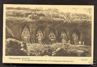 Bali-Tampaksiring-King's-Grave-Gunung-Kawi 1920s