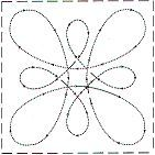 Free Quilting Stencils   ... quilting these block patterns require free motion quilting but are