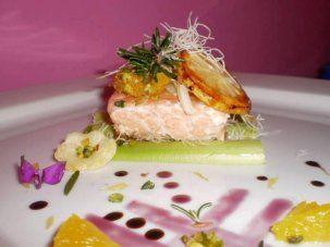 Trancio di salmone grigliato con insalatina di finocchio e arancia, la ricetta di Donatella Rizzo