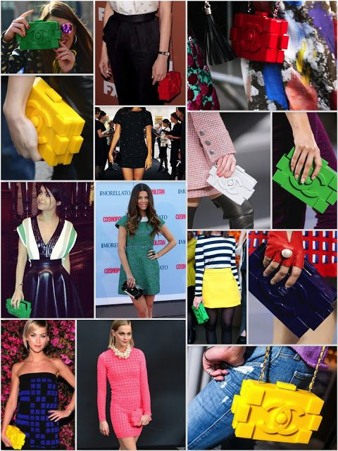 That's the Way: Chanel Lego Clutch: Childhood Memories