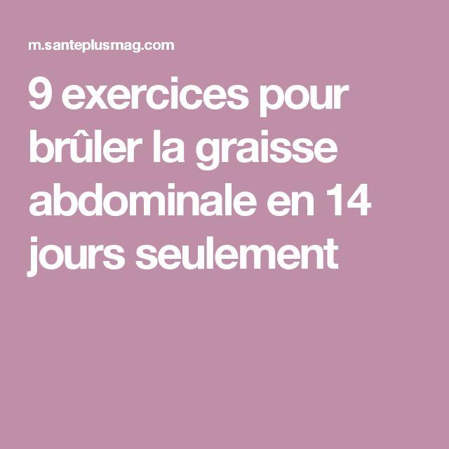 9 exercices pour brûler la graisse abdominale en 14 jours seulement