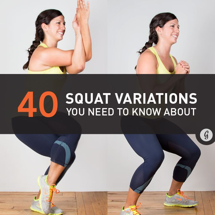 Behold: The humble bodyweight squat. Not only will dropping it like it's hot strengthen your quads, hamstrings, and glutes, adding squats to your regular workout routine could mean fewer knee injur...