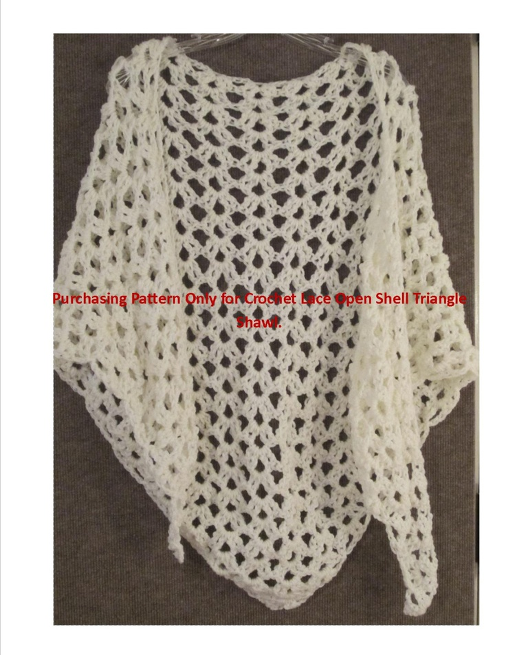 Crochet Triangle : ... Triangles Lace, Crochet Triangles, Crochet Pattern, Crochet Time, Lace