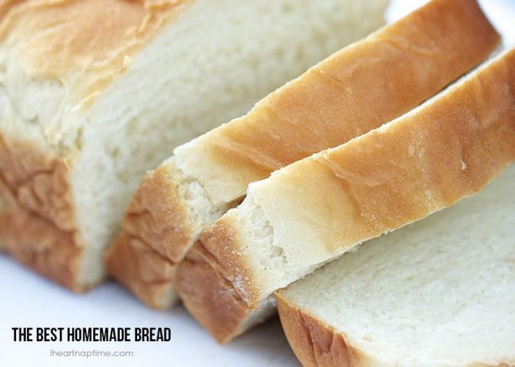 The best homemade bread recipe on I Heart Nap Time