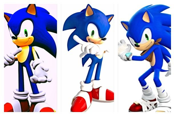 I've always had this crazy idea for a Sonic Boom episode. It would be a nice way to collaborate all the Sonic the Hedgehog's that were featured to us over the years. In the beginning of Sonic's long run, he was played by Ryan Drummond (Sonic on the Left) from 1999-2004. Then from Ryan Drummond to Jason Griffith (Middle Sonic) from 2005-2010. And lastly Roger Craig Smith (Sonic Boom Sonic, right) from 2010-current. I think if all three actors were to get in a booth together for an episode of…