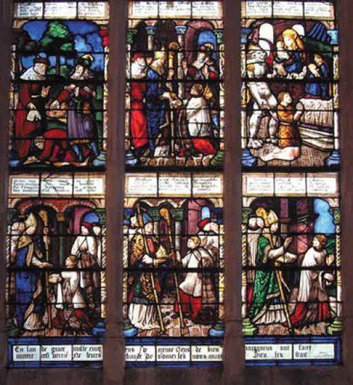 Dossier > Les grands vitraux : Chartres, Notre-Dame de Paris...