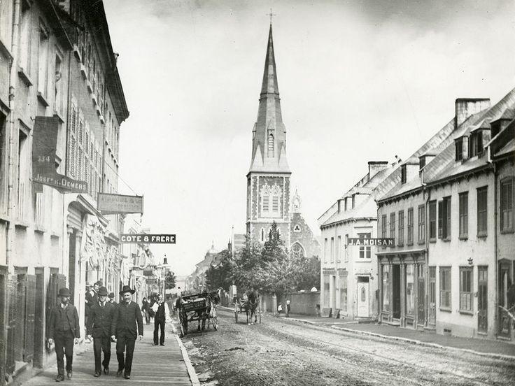 Le faubourg Saint-Jean-Baptiste, vers 1885