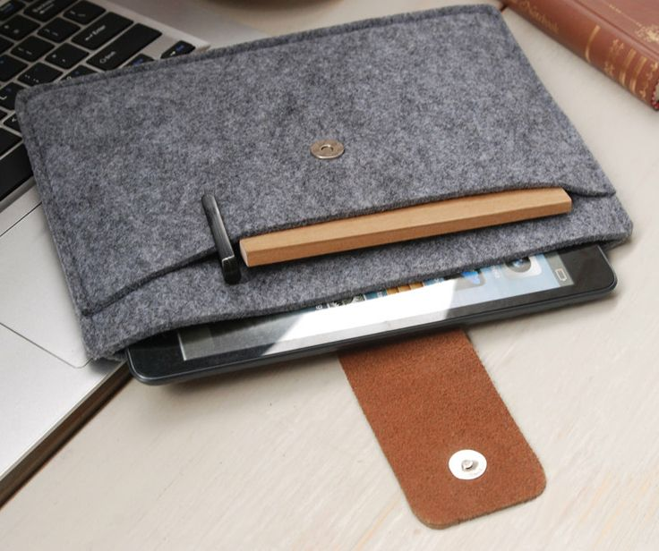Felt iPadmini case iPad mini cover iPadmini Sleeve by feltk, $19.00