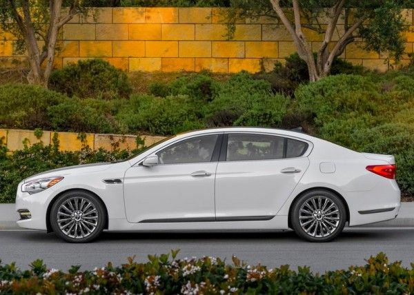 2015 Kia K900 Side Images 600x428 2015 Kia K900 Full Reviews with Images