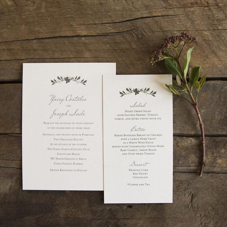 Image of Elisabeth wedding invitations 74