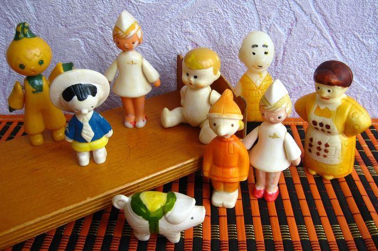 Пиф, хрюшка, Чиполлино, Петрушка. Советские игрушки - http://samoe-vazhnoe.blogspot.ru/
