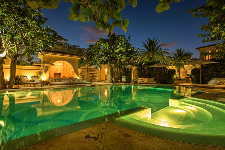 15 best miami beach residence images on pinterest miami for Pool design miami
