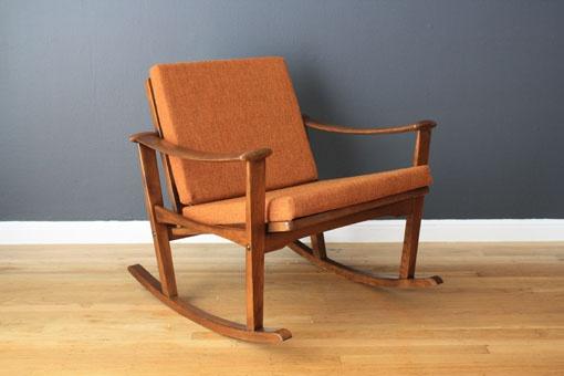 Danish Modern Rocking Chair, Finn Juhl  Design Chairs (to 1969 ...