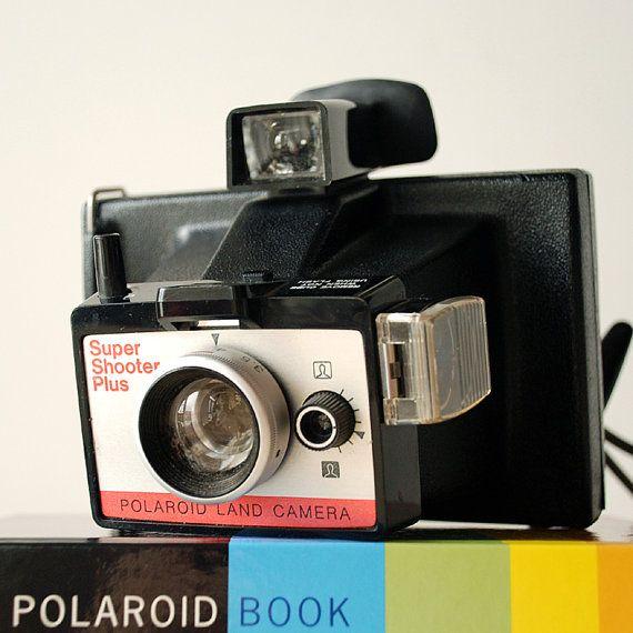 Vintage Polaroid Super Shooter Plus Packfilm Camera