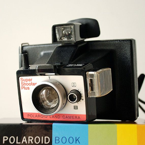 Vintage Polaroid Super Shooter Plus Packfilm Camera