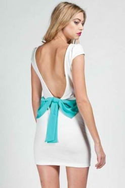 <3Dreams Style, White Bows, Bow Back Dresses, Parties Dresses, Pretty Fashion, Promo Codes, Bows Back Dresses, Fashion Style Accessories, Dreams Closets