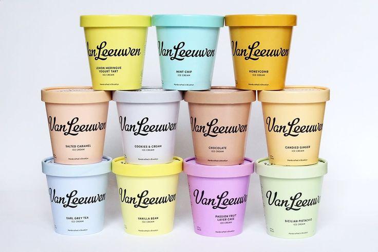 Van Leeuwen Ice Cream Identity von Pentagram mindsparklemag.co …   – *design