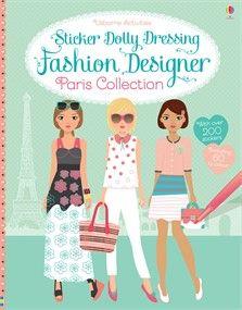 Usborne Sticker Dolly Dressing Fashion Designer: Paris Collection