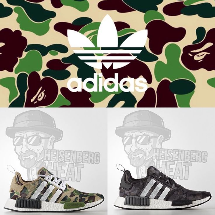 #mulpix Now comes the BAPE x adidas NMD R1 collaboration, fresh! Images courtesy of @heisenbergheat  #bape  #adidas  #collaboration  #nmd  #ape  #camo  #kicks  #sneakers  #footwear  #sneakerhead  #streetfashion  #streetwear  #streetstyle  #hyped  #vibe  #