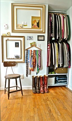 Small, But Effective Closet