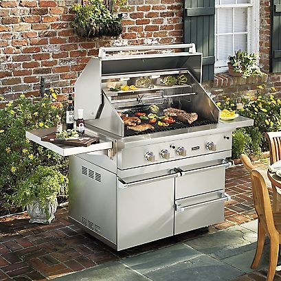 17 best images about appliances for the home on pinterest for Viking outdoor cabinets