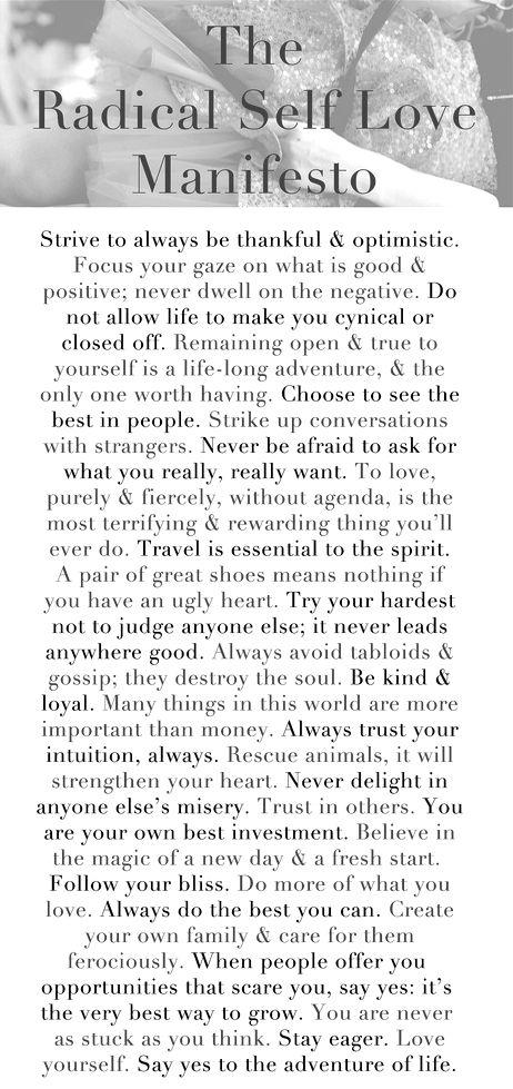 Self-love mantra