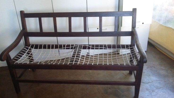 Antique riempie wooden bench | Gillitts | Gumtree Classifieds South Africa | 224926649
