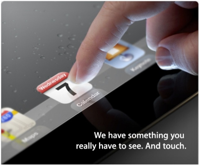 It's official iPad3! http://entertainmentweb.it/apple-presentazione-ipad3-359