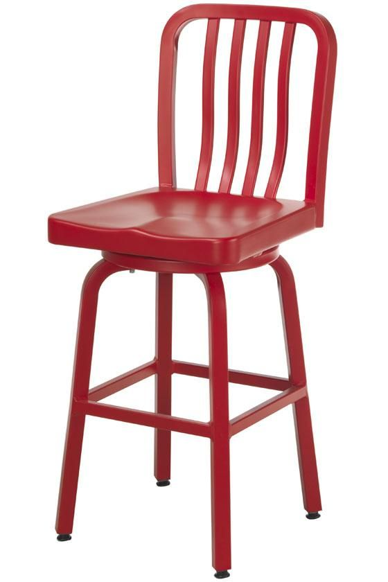 Sandra Counter Stool in Red, Home Decorators Collection. LOVE this swivel stool with back,gorgeous. unfortunately it's on sale for $135...still I can dream :)