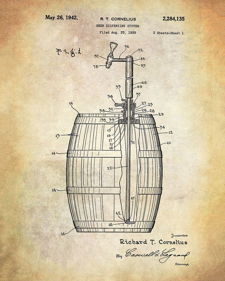 19 best Patents images on Pinterest | Art prints, Beer brewing and ...