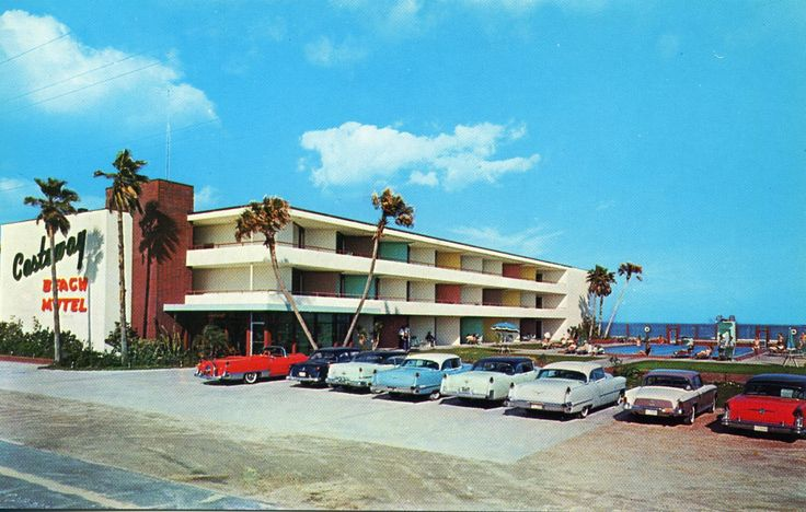 The Castaway Motel in Daytona Beach, Florida