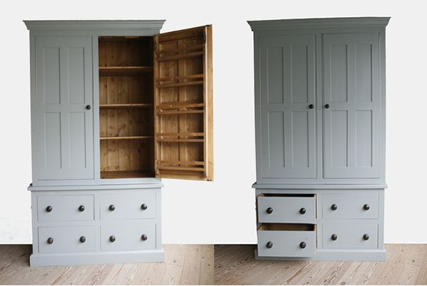 Or perhaps a larder cupboard and a range