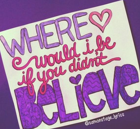 Believe- Justin Bieber