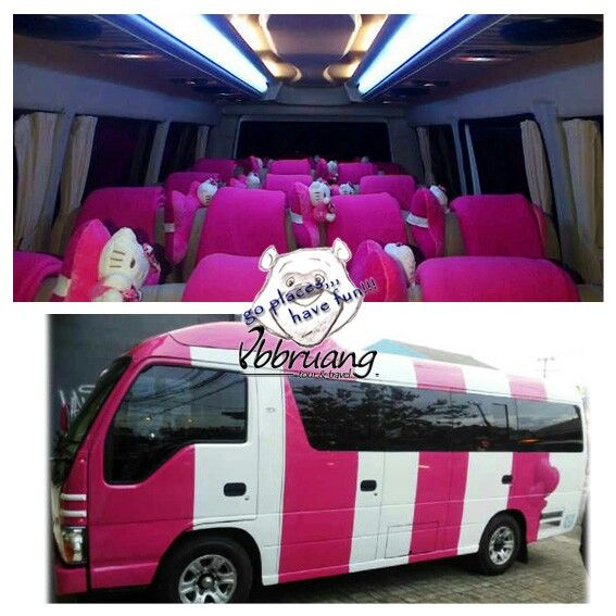 bus pariwisata agun holiday elf