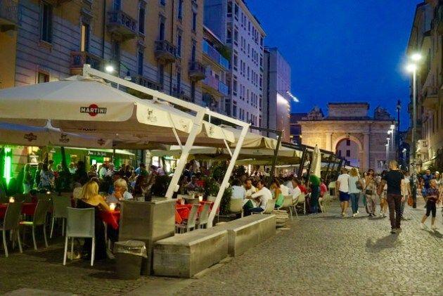 【ミラノ・ベネチア旅】04.ミラネーゼのフライデーナイトはこのアドレス!『Cantina Concordia Milano』{ミラノ}